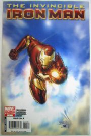 Invincible Iron Man #1 Billy Tan Retailer Incentive Variant 1:25